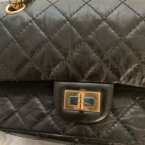 CHANEL Bags - CHANEL Aged Calfskin Quilted 2.55 Reissue Mini F